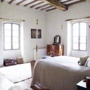 Manoir master bedroom photograph