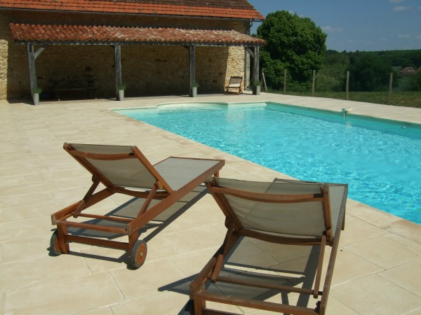 Holiday villa swimming pool