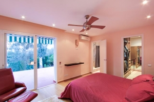 Staging and photography of the master bedroom are important