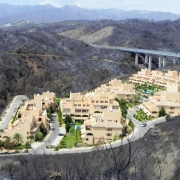 Andalucia Fire Damage Around Holiday Complex