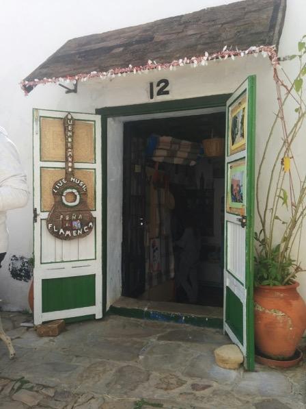 Teeny tiny flamenco bar in Castellar de la Frontera