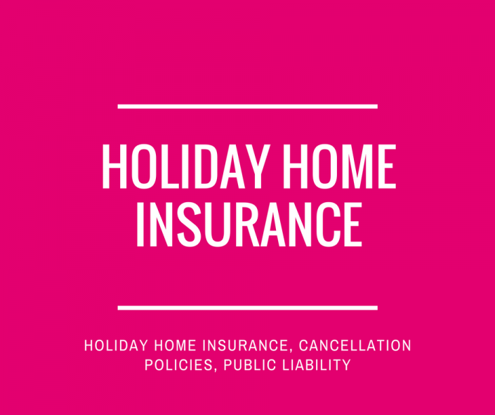 Holiday rental insurance