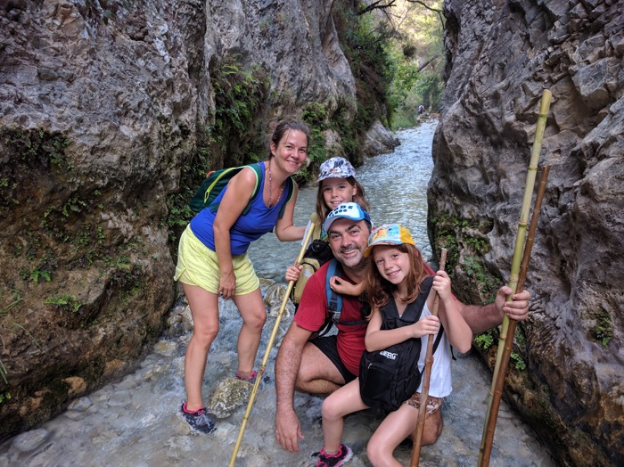 Hike along the Rio Chillar in Nerja