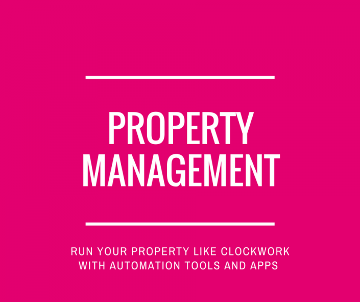 Property Management Tools for holiday lets and villas
