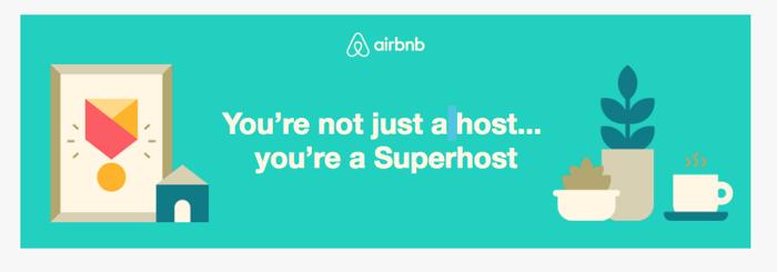 Airbnb Superhost Congrats